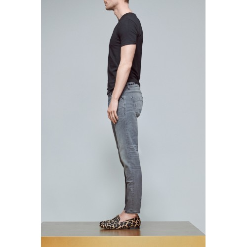 Jeans AD 06 LIGHT GREY BLACK ACE DENIM