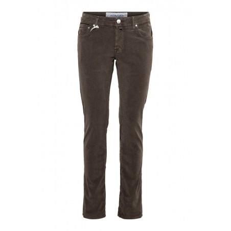 Pantalons JACOB COHEN J622 taupe en toile