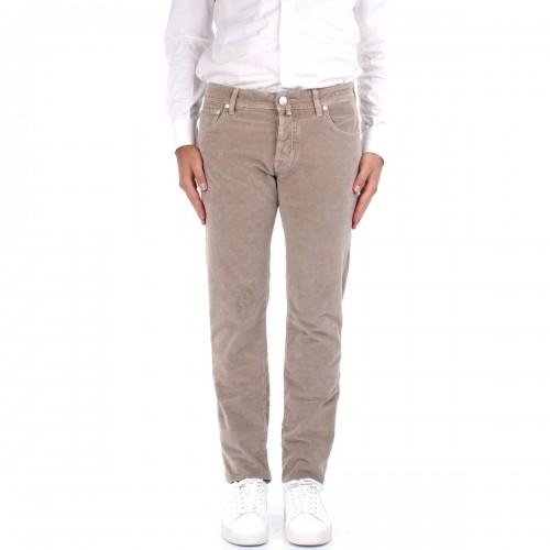 Pantalon JACOB COHEN J622 beige en toile
